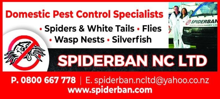 Spiderban NZ Ltd